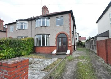 Thumbnail 4 bed semi-detached house to rent in Parkgate Road, Chester
