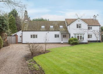 Thumbnail 5 bedroom detached house for sale in Norwich Road, Horsham St. Faith, Norwich