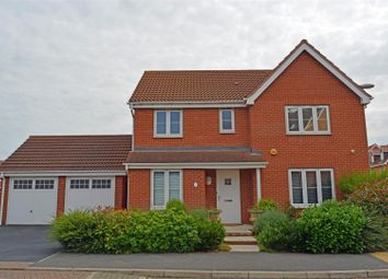 Thumbnail 4 bed detached house for sale in Whimbrel Chase, Scunthorpe