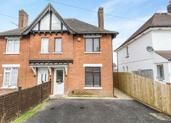 Thumbnail 2 bed semi-detached house for sale in Blackthorn Road, Southampton