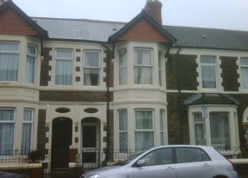 Thumbnail 3 bedroom terraced house to rent in Lisvane Street, Cathays, Cardiff