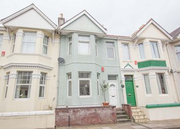 Thumbnail 2 bedroom terraced house for sale in Knighton Road, St Judes, Plymouth