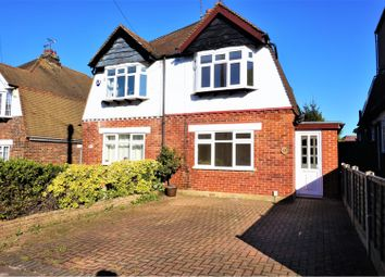 Thumbnail 3 bed semi-detached house for sale in Hawthorne Avenue, Gillingham