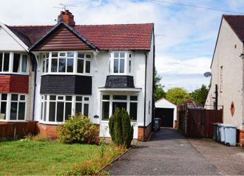 Thumbnail 3 bed semi-detached house for sale in Crewe Road, Crewe
