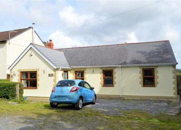 Thumbnail 5 bed detached bungalow for sale in Grovesend, Swansea