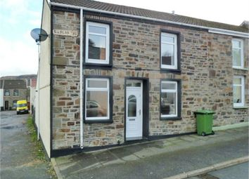 Thumbnail 2 bed end terrace house for sale in Gadlys Street, Aberdare, Mid Glamorgan