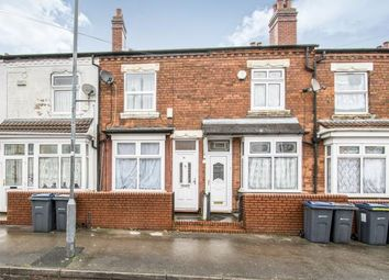 Thumbnail 2 bedroom terraced house for sale in Willes Road, Hockley, Birmingham, West Midlands