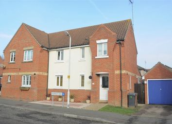 Thumbnail 3 bed semi-detached house for sale in Stanley Rise, Chelmer Village, Chelmsford, Essex