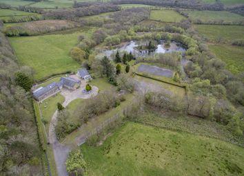 Thumbnail 4 bed detached house for sale in Penty Farm Llanddarog Road, Carmarthen, Carmarthenshire.