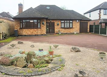 Thumbnail 2 bed detached bungalow for sale in Welford Road, Knighton Fields, Leicester
