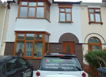 Thumbnail 4 bedroom terraced house to rent in Salisbury Avenue, Barking