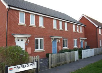 Thumbnail 3 bed terraced house to rent in Mayfield Way, Cranbrook, Exeter