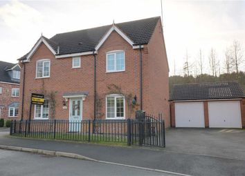 Thumbnail 4 bed detached house for sale in Buttercup Close, Cannock, Staffordshire