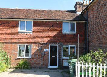 Thumbnail 3 bed terraced house to rent in Crockhurst Street, Tudeley, Tonbridge