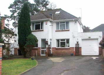Thumbnail 4 bed detached house to rent in Queens Park Avenue, Bournemouth