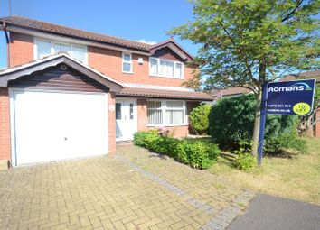 Thumbnail 4 bed detached house to rent in Landseer Close, College Town, Sandhurst