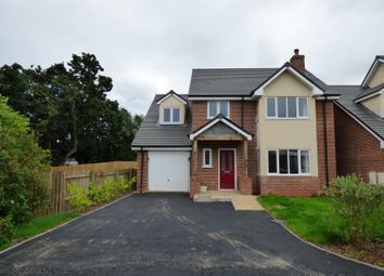 Thumbnail 4 bedroom detached house for sale in Silkmore Crescent, Stafford