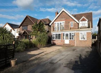 Thumbnail 5 bed detached house for sale in Romsey Road, Nursling, Southampton