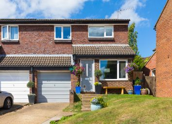 Thumbnail 3 bed semi-detached house for sale in Mortain Drive, Northchurch, Berkhamsted