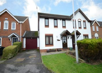 Thumbnail 3 bed semi-detached house for sale in Madox Brown End, College Town, Sandhurst