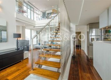Thumbnail 2 bedroom terraced house to rent in Pan Peninsula Square, London