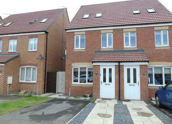 Thumbnail 3 bed town house for sale in Rothbury Drive, Ashington