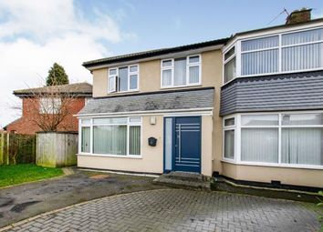 Thumbnail 5 bed semi-detached house for sale in Montagu Avenue, Gosforth, Newcastle, Tyne And Wear