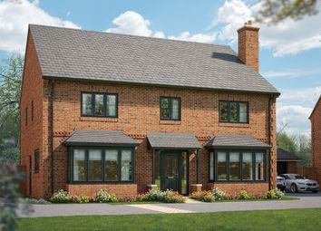"Thumbnail 5 bed detached house for sale in ""The Florentina"" at Field End, Witchford, Ely"
