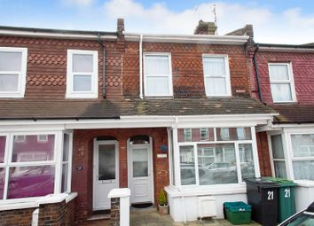 Thumbnail 2 bedroom terraced house for sale in Winchcombe Road, Eastbourne