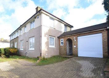 Thumbnail 4 bed semi-detached house for sale in Milton Close, Dover, Kent