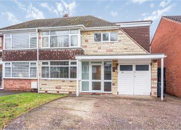 Thumbnail 3 bed semi-detached house for sale in Richmond Grove Wollaston, Stourbridge