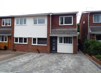 Thumbnail 4 bedroom semi-detached house for sale in Wolves Mere, Woolmer Green, Knebworth, Hertfordshire