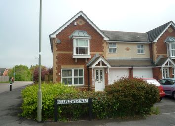 Thumbnail 3 bed semi-detached house to rent in Bellflower Way, Titchfield, Fareham