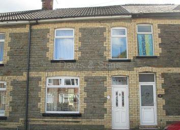 Thumbnail 3 bedroom terraced house for sale in Edward Street, Cwmcarn, Newport.