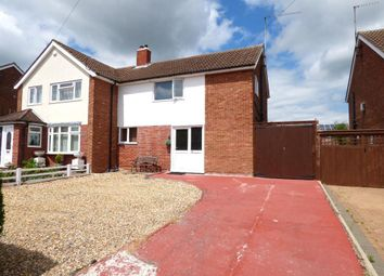 Thumbnail 2 bed semi-detached house for sale in Pax Hill, Putnoe, Bedford