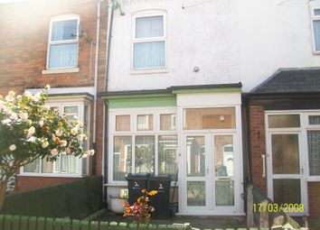 Thumbnail 2 bed terraced house for sale in Hazeldene Grove Off Fentham Road, Aston