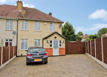 Thumbnail 3 bed semi-detached house for sale in Longmead Road, Hayes