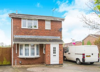 Thumbnail 3 bedroom detached house for sale in Swallowdale Drive, Leicester