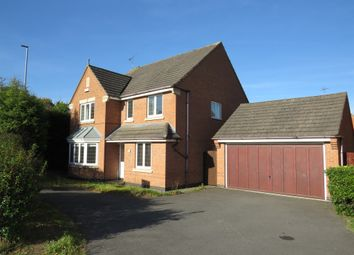 Thumbnail 4 bed detached house for sale in Bluebell Drive, Groby, Leicester