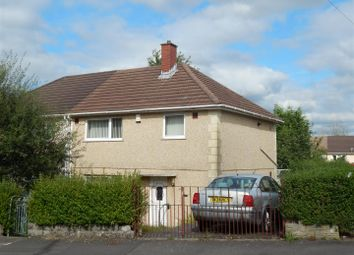 Thumbnail 3 bed semi-detached house for sale in Tynywaun Road, Llansamlet, Swansea
