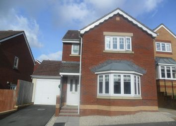 Thumbnail 3 bedroom detached house for sale in Parc Gilbertson, Pontardawe, Swansea.