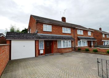 Thumbnail 3 bed semi-detached house to rent in Lea Road, Camberley