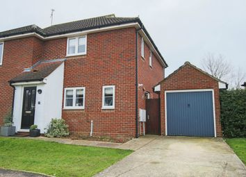 Thumbnail 3 bed semi-detached house for sale in Bower Hall Drive, Steeple Bumpstead, Haverhill