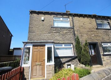 Thumbnail 2 bed semi-detached house for sale in Clough Lane, Halifax, West Yorkshire