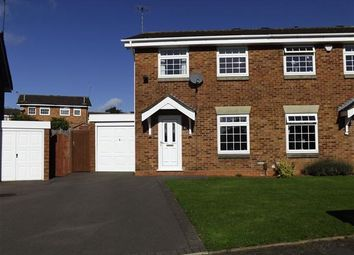 Thumbnail 3 bed semi-detached house to rent in Lydney Close, Redditch, Church Hill, Redditch