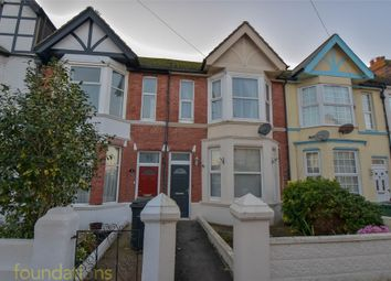 Thumbnail 3 bed terraced house for sale in Windsor Road, Bexhill-On-Sea, East Sussex