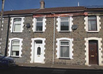 Thumbnail 3 bed terraced house for sale in Bassett Street, Trallwn, Pontypridd