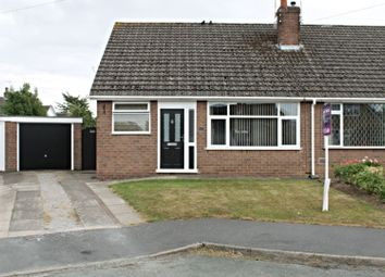 Thumbnail 3 bed semi-detached bungalow for sale in Prior Close, Wistaston, Crewe