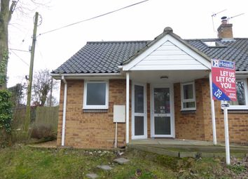 Thumbnail 2 bed bungalow to rent in Welham Lane, Risby, Bury St. Edmunds