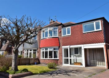 Thumbnail 4 bed semi-detached house for sale in Mill View Avenue, Fulwell, Sunderland